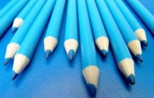 Biurko i ołówki