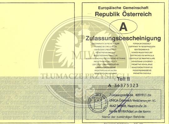 Jak sprowadzić samochód z Austrii? Dokumenty samochodowe z Austrii.