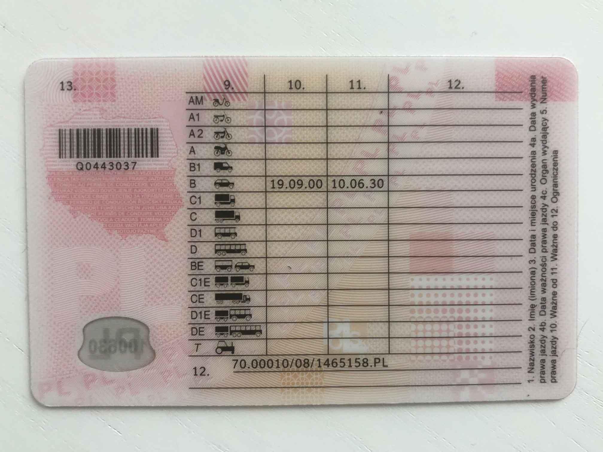Międzynarodowe prawo jazdy w Polsce